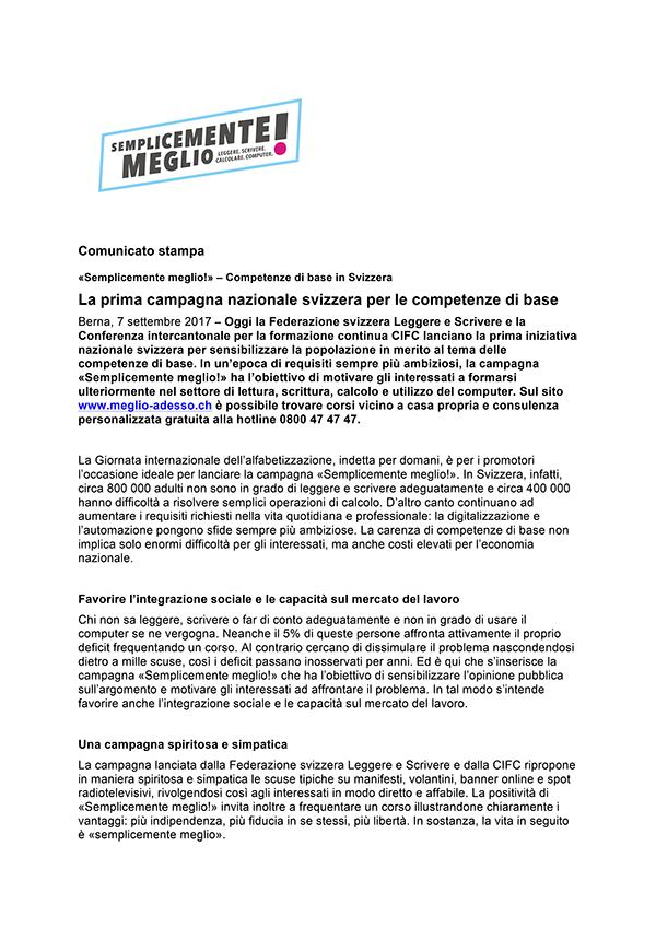 Comunicato stampa PDF