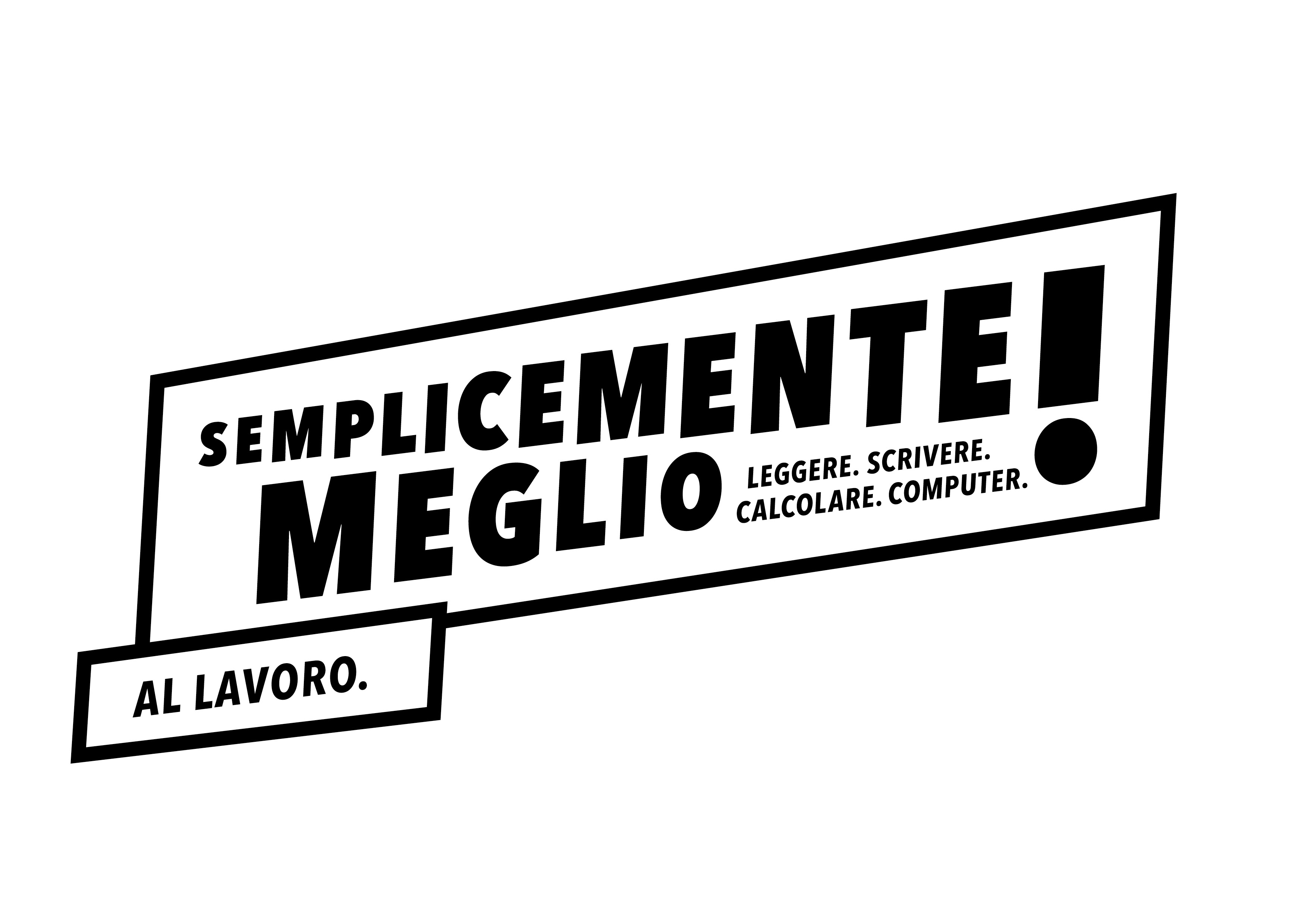Logo competenze di base nero