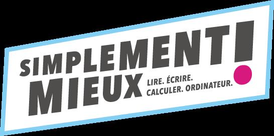 Logo compétences de base bleu