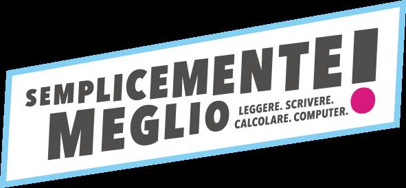 Logo competenze di base  blu